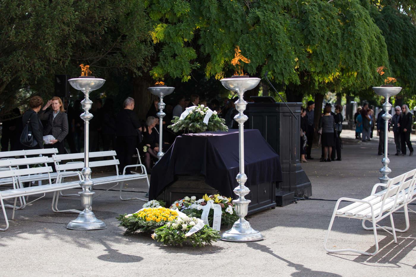 Gallai Péter temetése