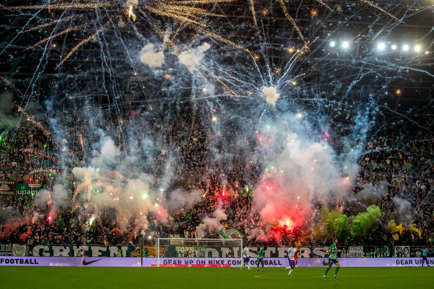 A Ferencváros-Újpest rangadó legjobb fotói