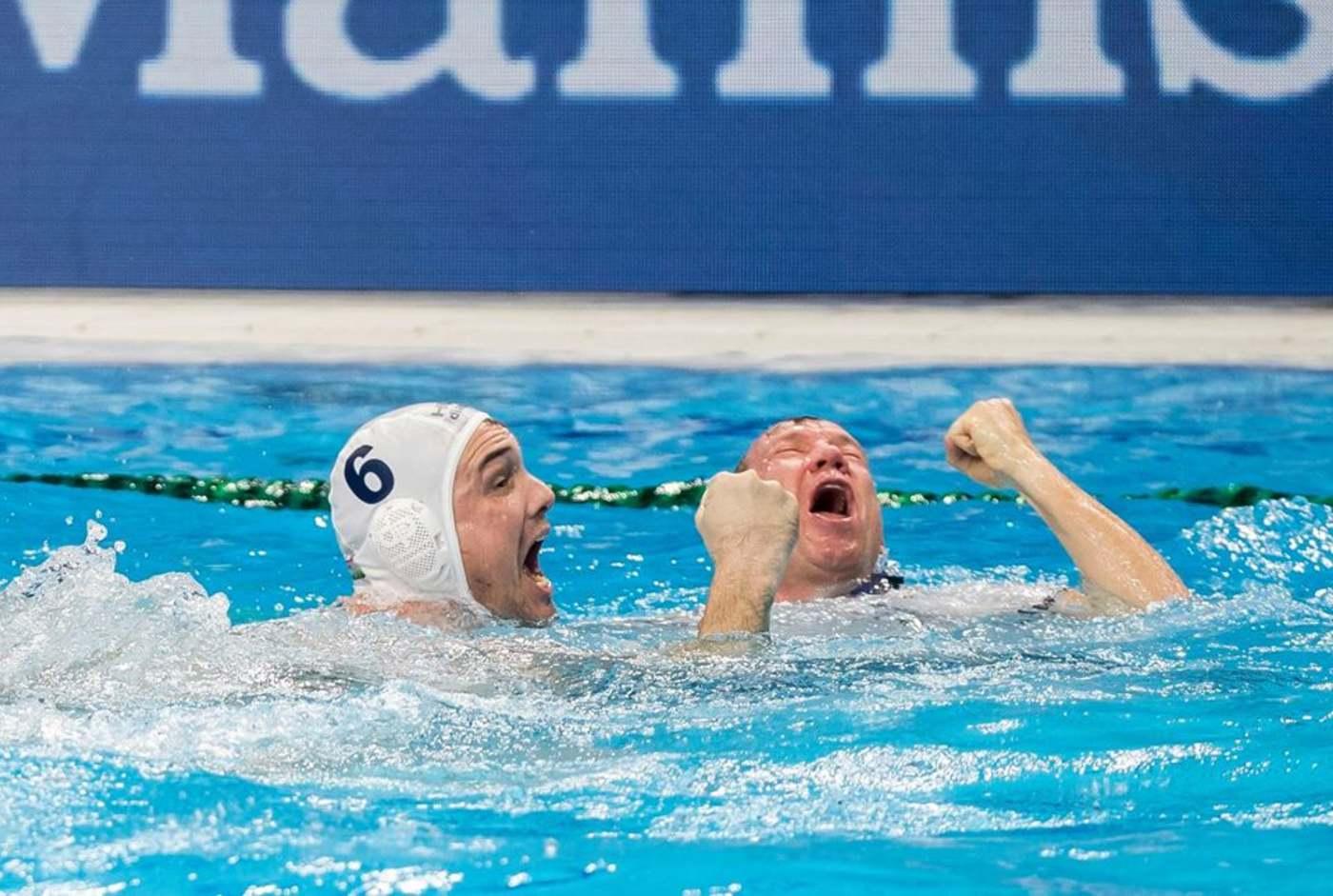 Európa-bajnok a férfi vízilabada-válogatott