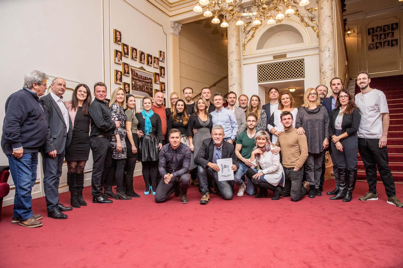 Budapesti Operettszínház: La Mancha lovagja olvasópróba