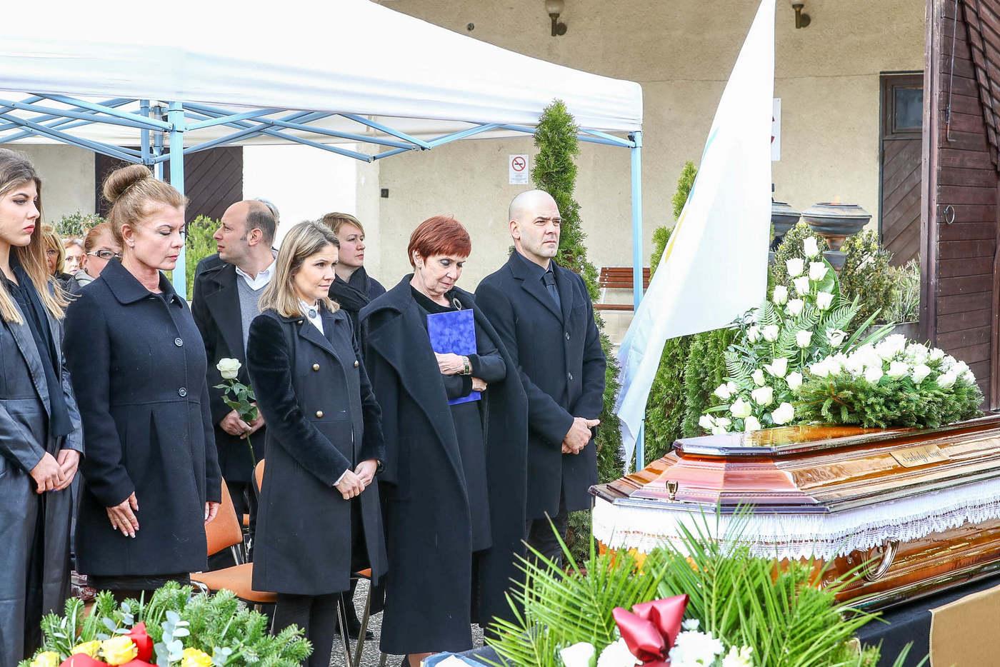 Székely Éva temetése