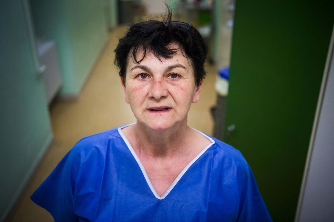 Szilágyi Erzsébet, ápoló