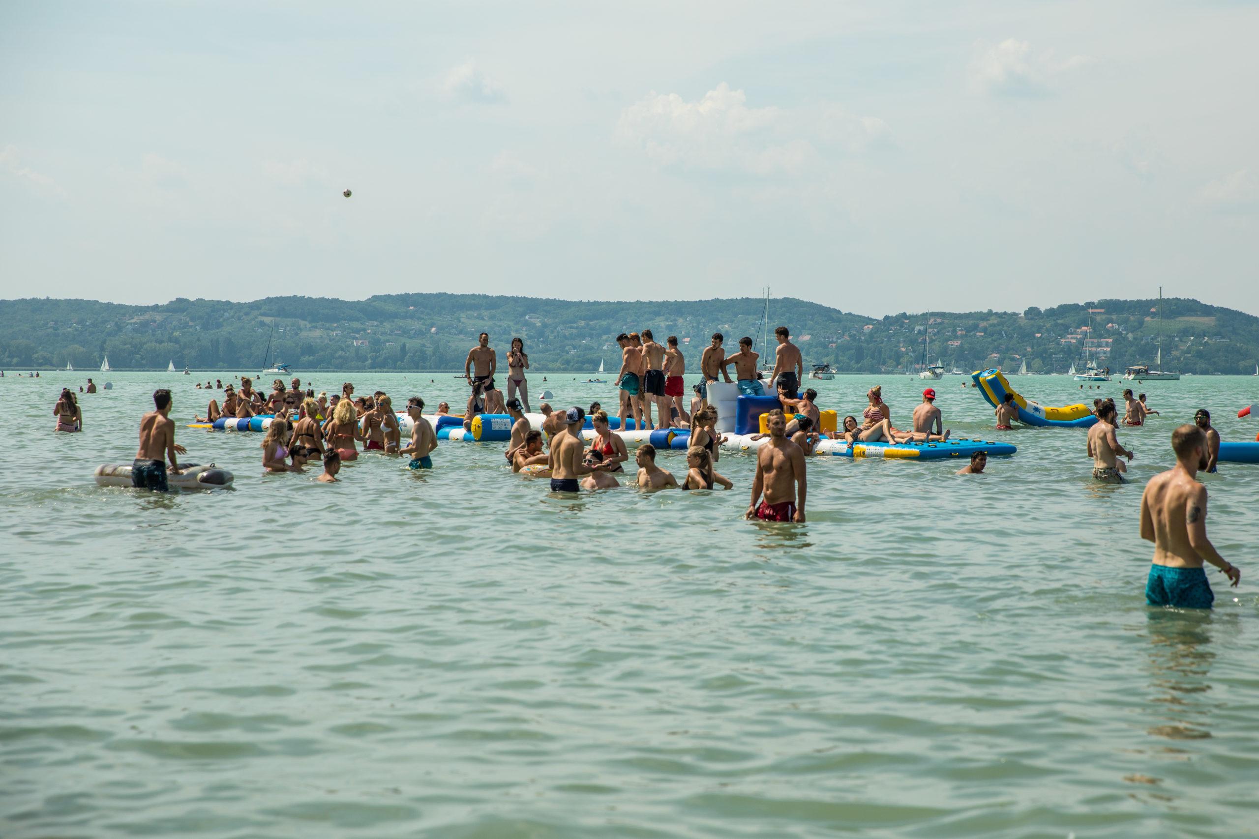 A Balaton vize is biztonságos