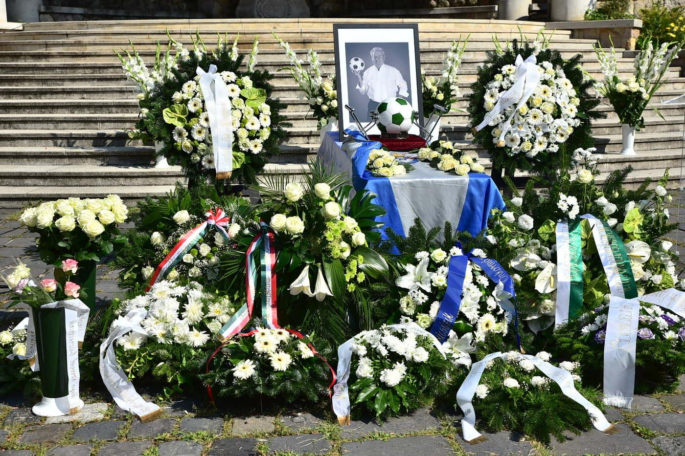 Szűcs Lajos temetése