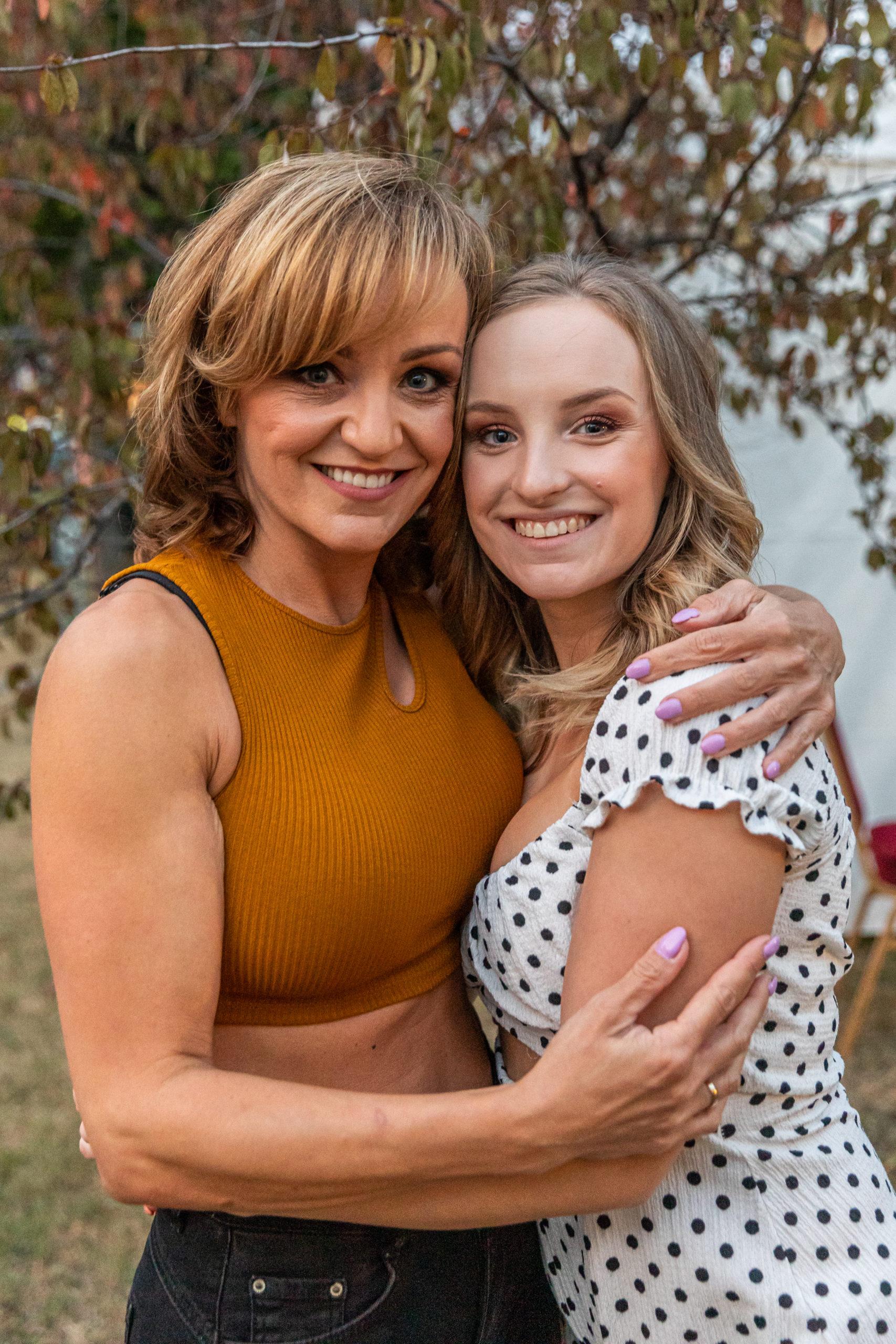 Szandi és lánya