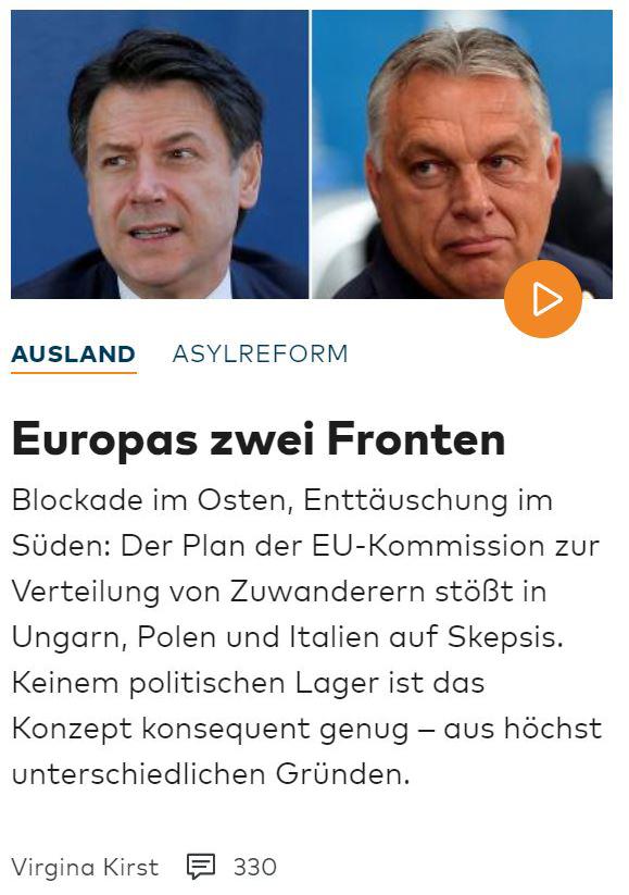 A német emberek Orbán Viktor politikáját tartják követendő példának