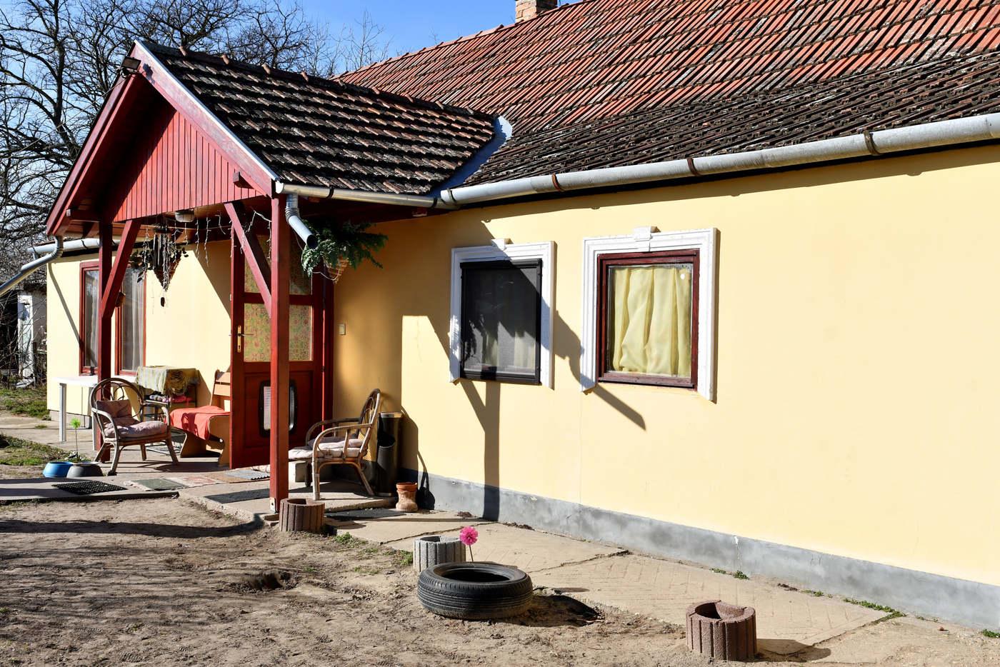 Ilyen volt a ház a felújítás előtt. Fotó: TV2