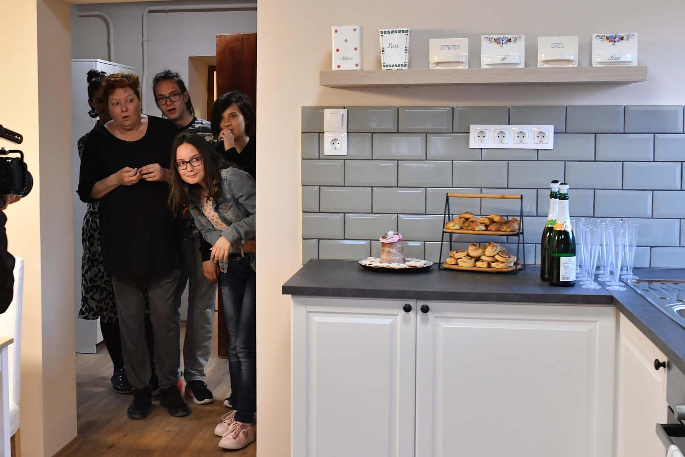 Az egész család nagyon boldog. Fotó: TV2