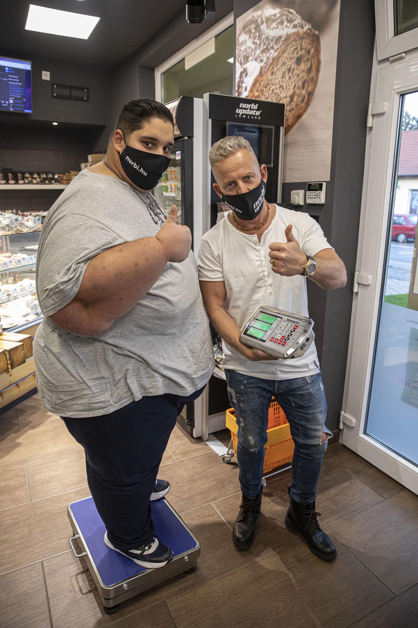 Sikertörténet: Péter kilóról olyan vékonyra fogyott, hogy vissza kellett szednie pár kilót