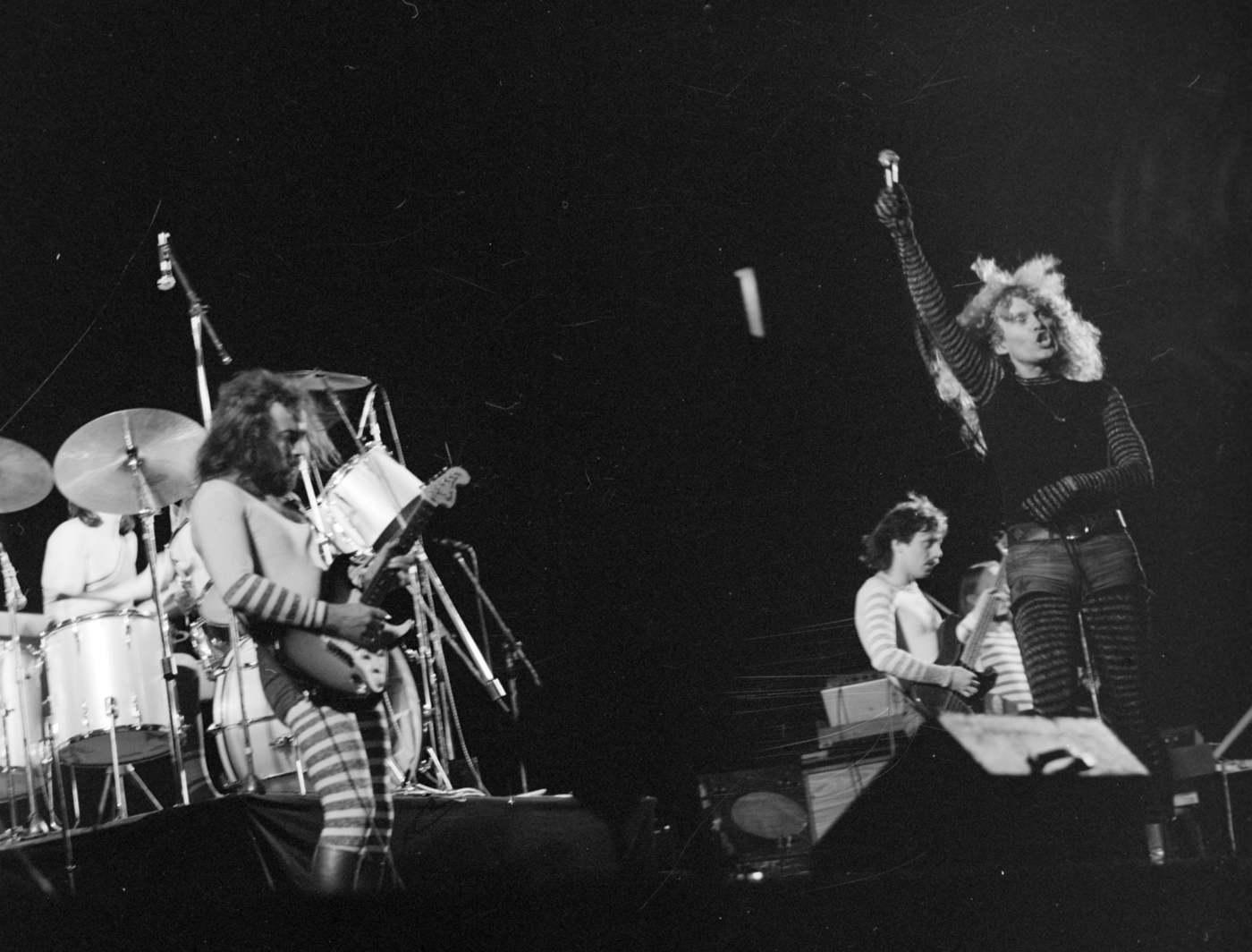 Budapest, 1978. augusztus 26. Az Omega együttes koncertje a Kisstadionban. MTI Fotó: Ruzsonyi Gábor