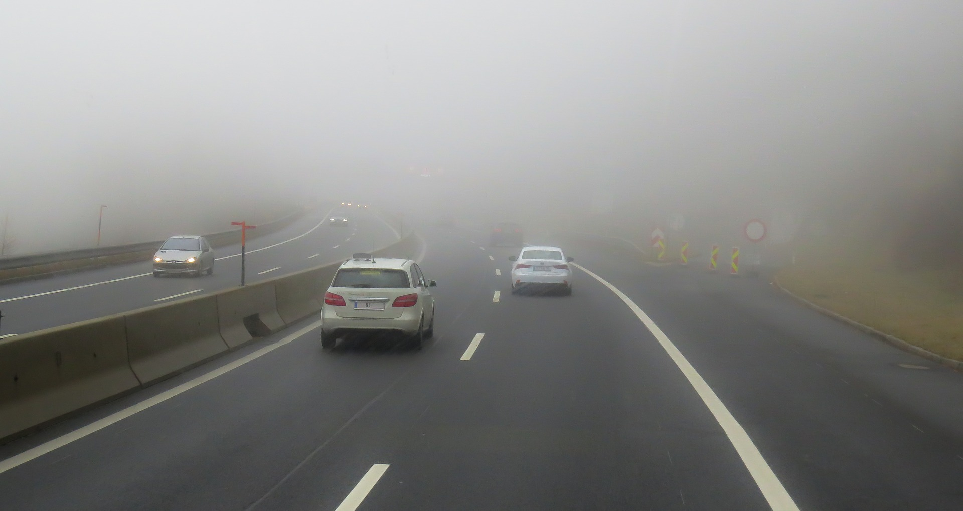 Horrofilmbe illő köd várható reggelente