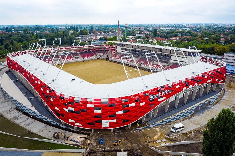 Szombaton játszották volna a Bozsik Aréna nyitómérkőzését