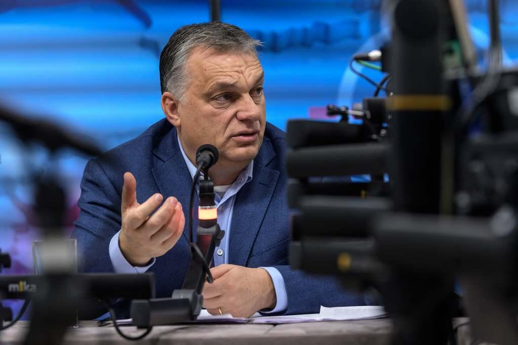 Orbán Viktor péntek reggel adott interjút a Kossuth Rádióban