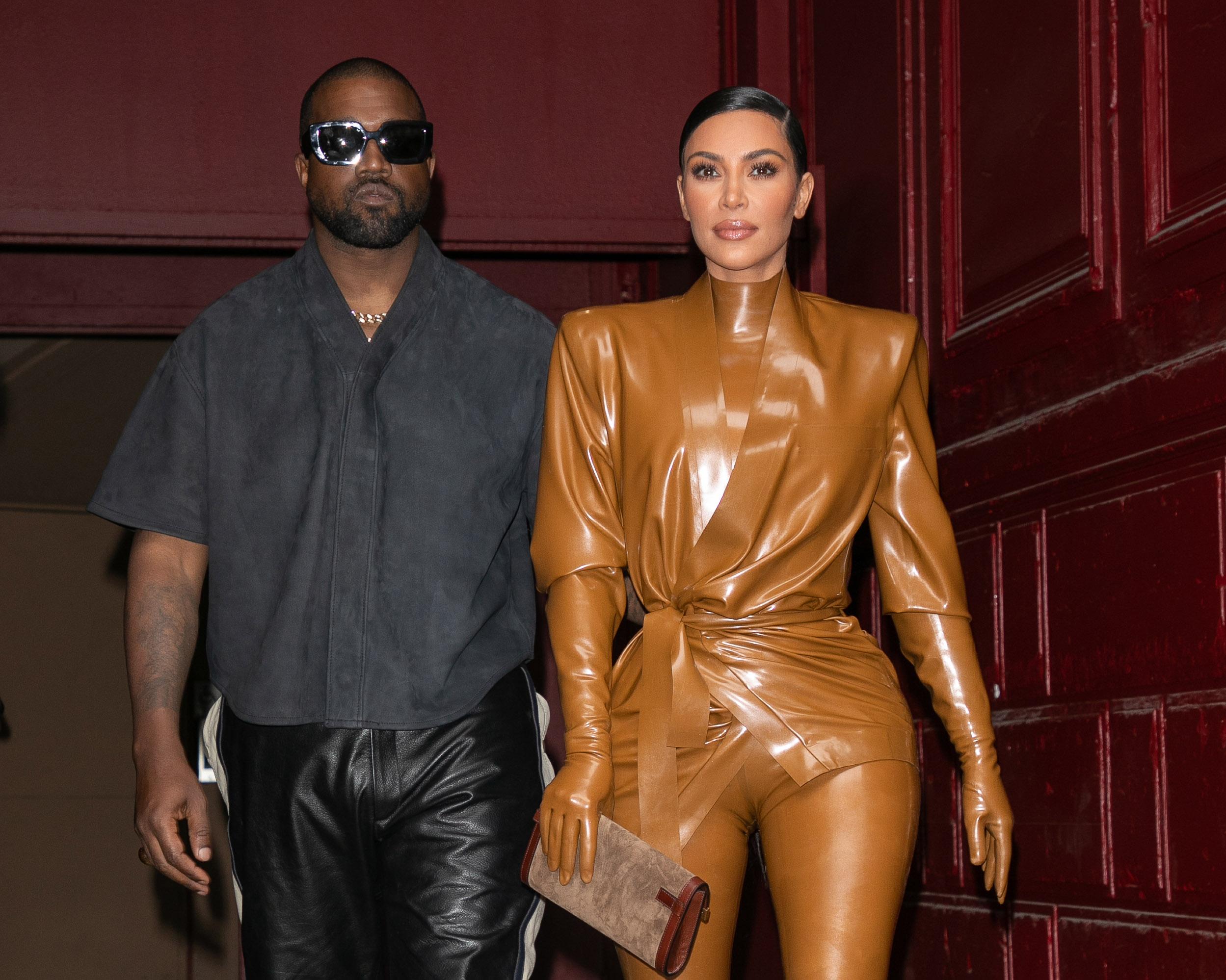 Kim Kardashian elválik Kanye Westtől