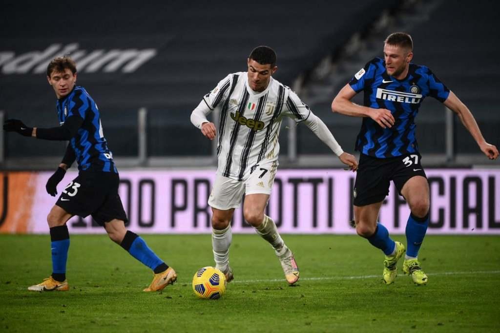 Ronaldo nem szerzett gólt a Juve-Inter meccsen