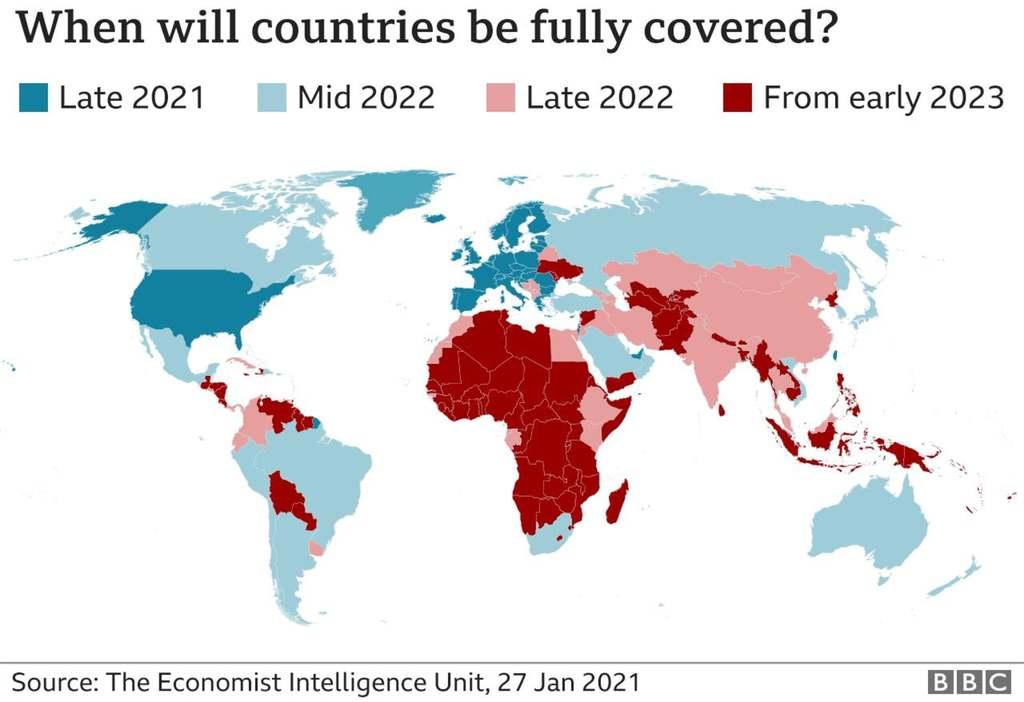 A világ több kontinensén nem áll jól az oltási kampány
