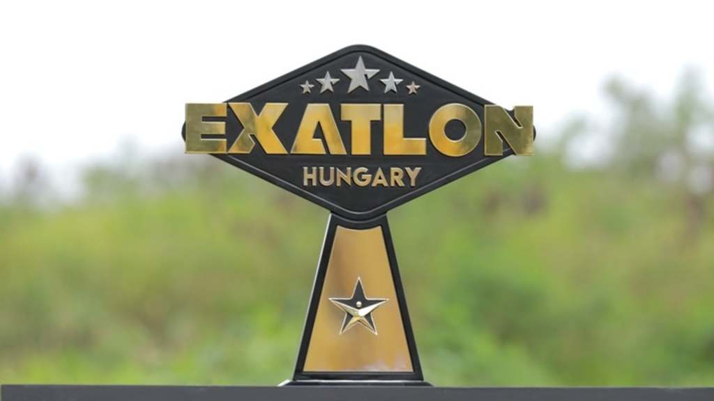 Exatlon győztes kupa
