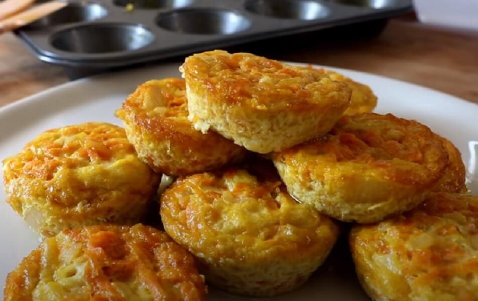 Ízletes répás muffin