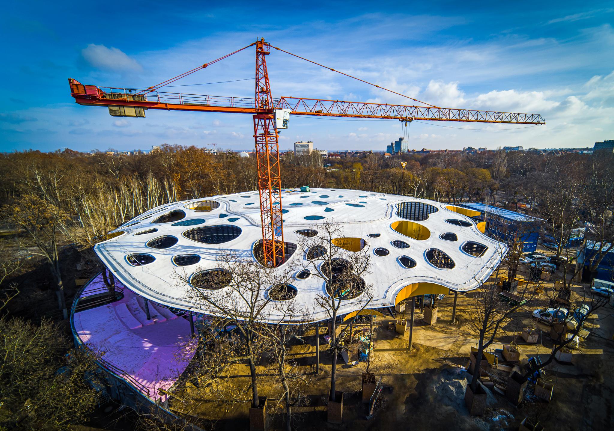 A Magyar Zene Háza 2019-ben nyerte el az Európa legjobb középületének járó elismerést