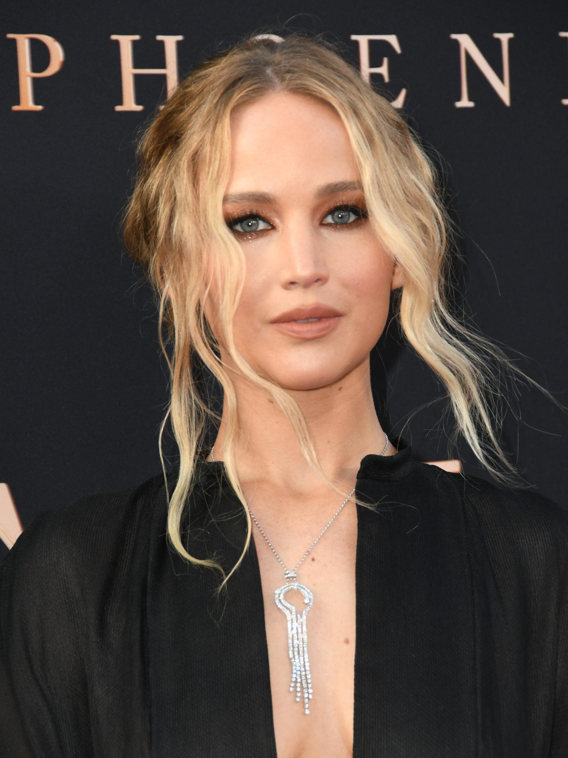 Jennifer Lawrence egy filmpremieren