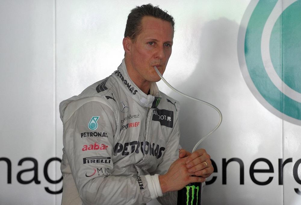 Michael Schumacher 2012-ben, a Mercedes pilótájaként