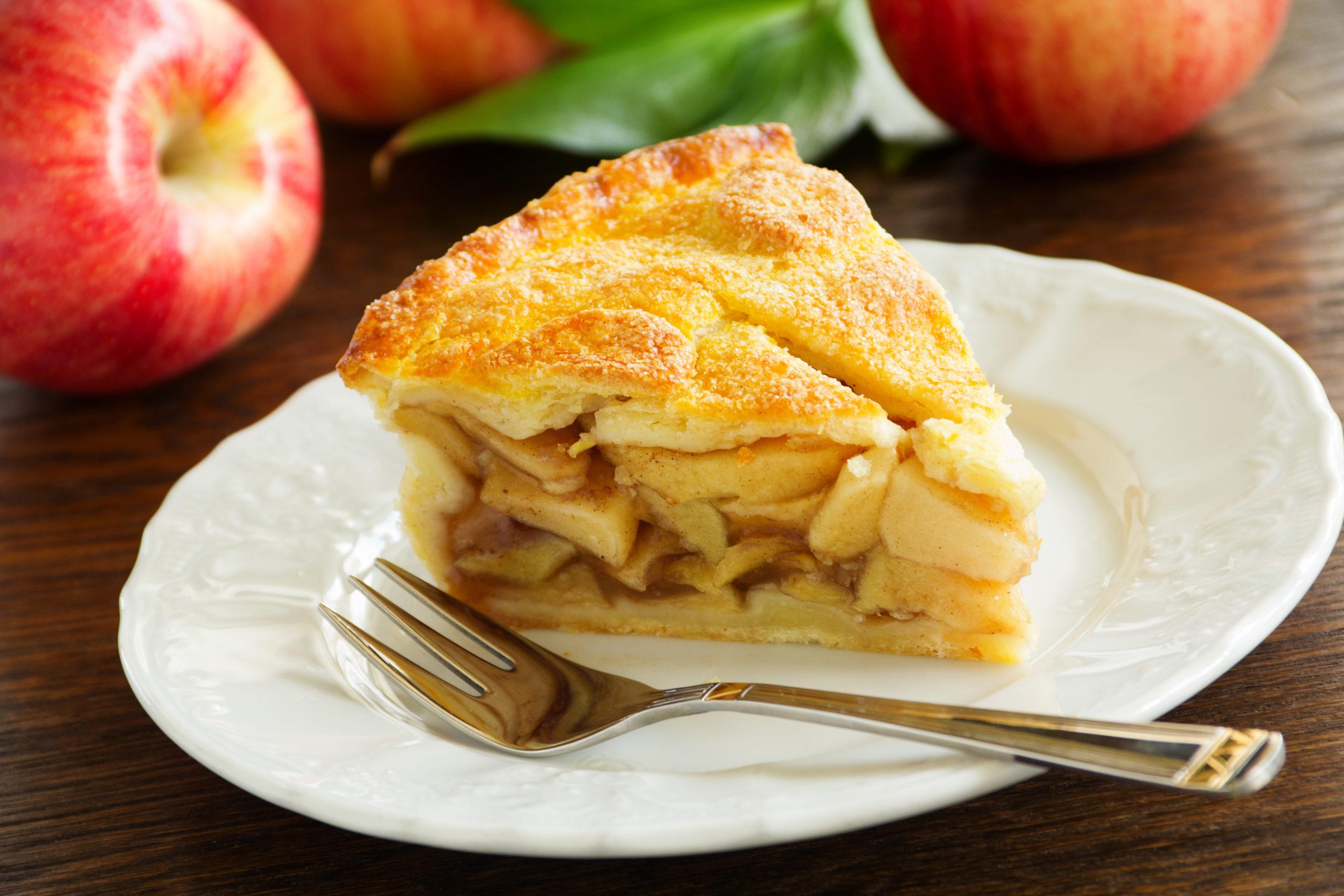 4 almából készül a gyors almás pite