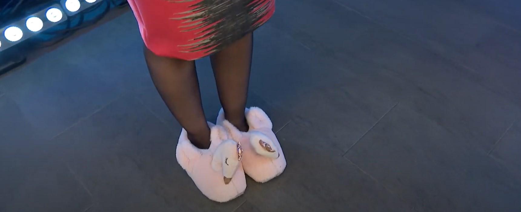 orsovai reni flamingó papucs