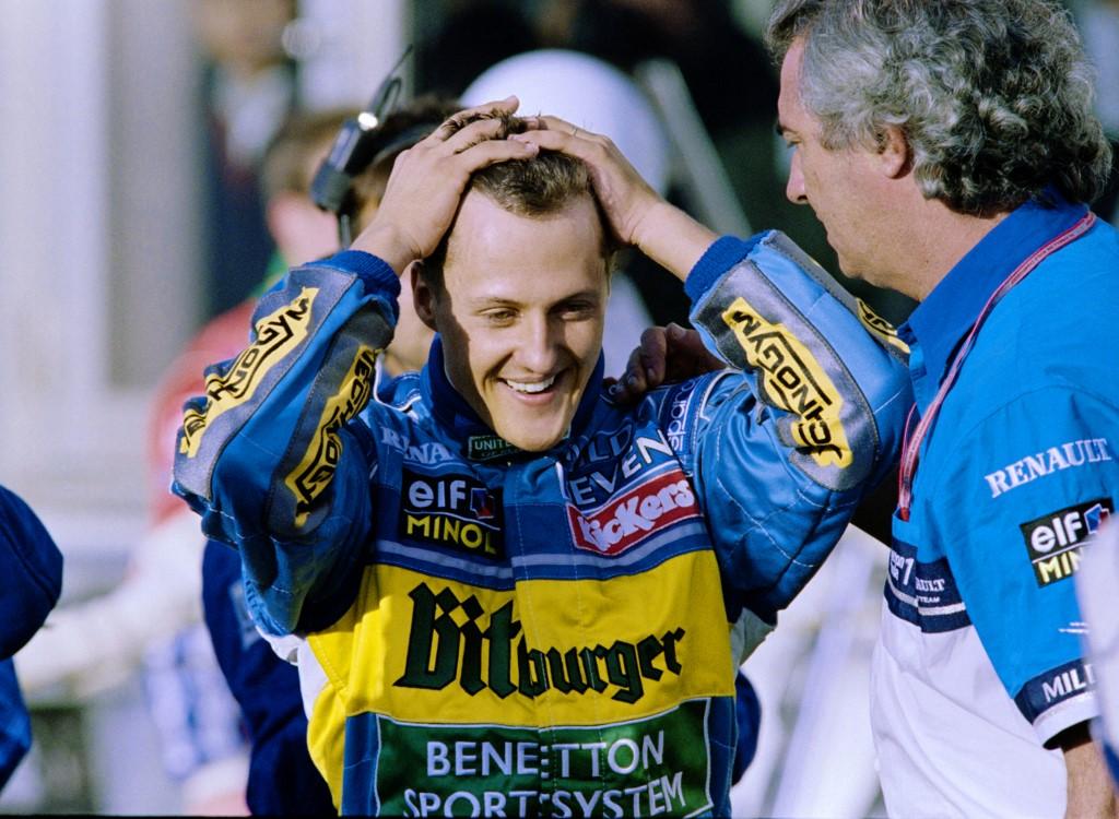 Schumacher bemutatkozása. A német pilóta 1991-ben a Belga Nagydíjon debütált