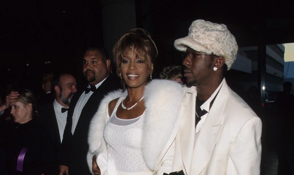 Whitney és Bobby Brown