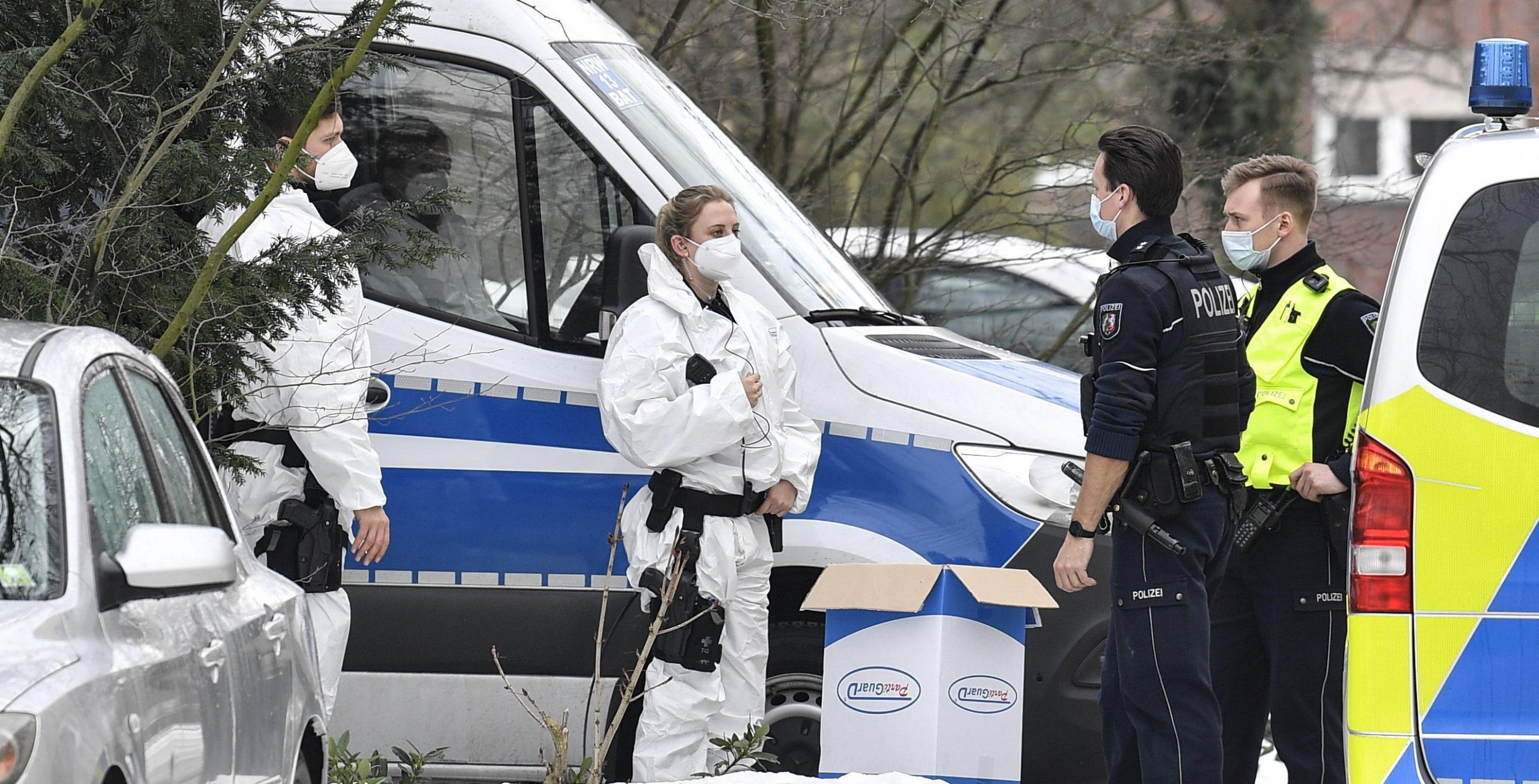 Németországban vesztegzár mutáns vírus