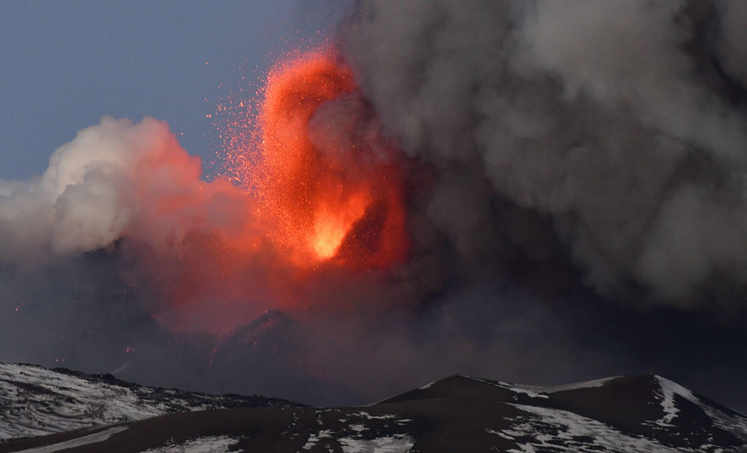 Kitört az Etna vulkán