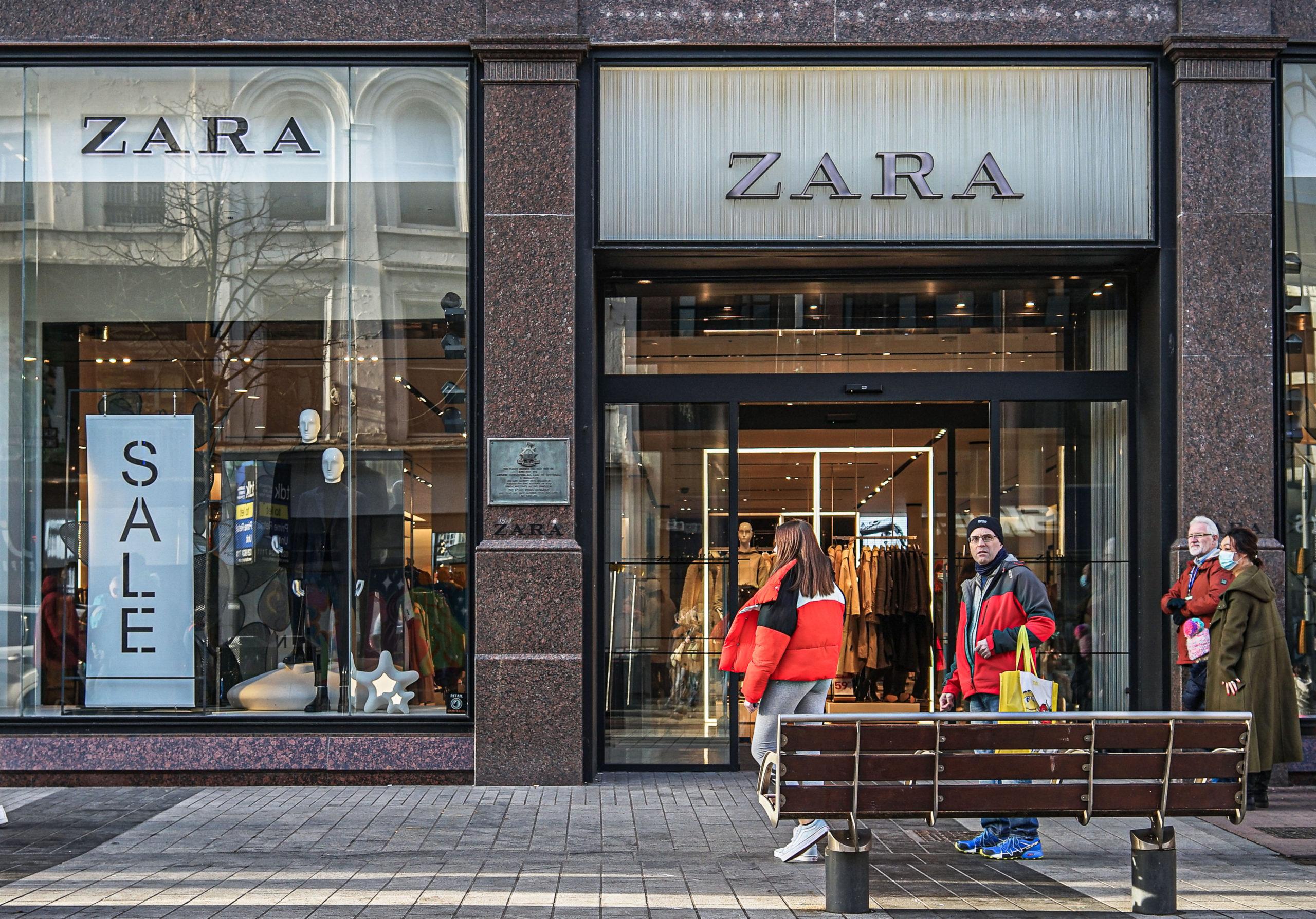A Zara az internetes kereskedelemben látja a jövőt