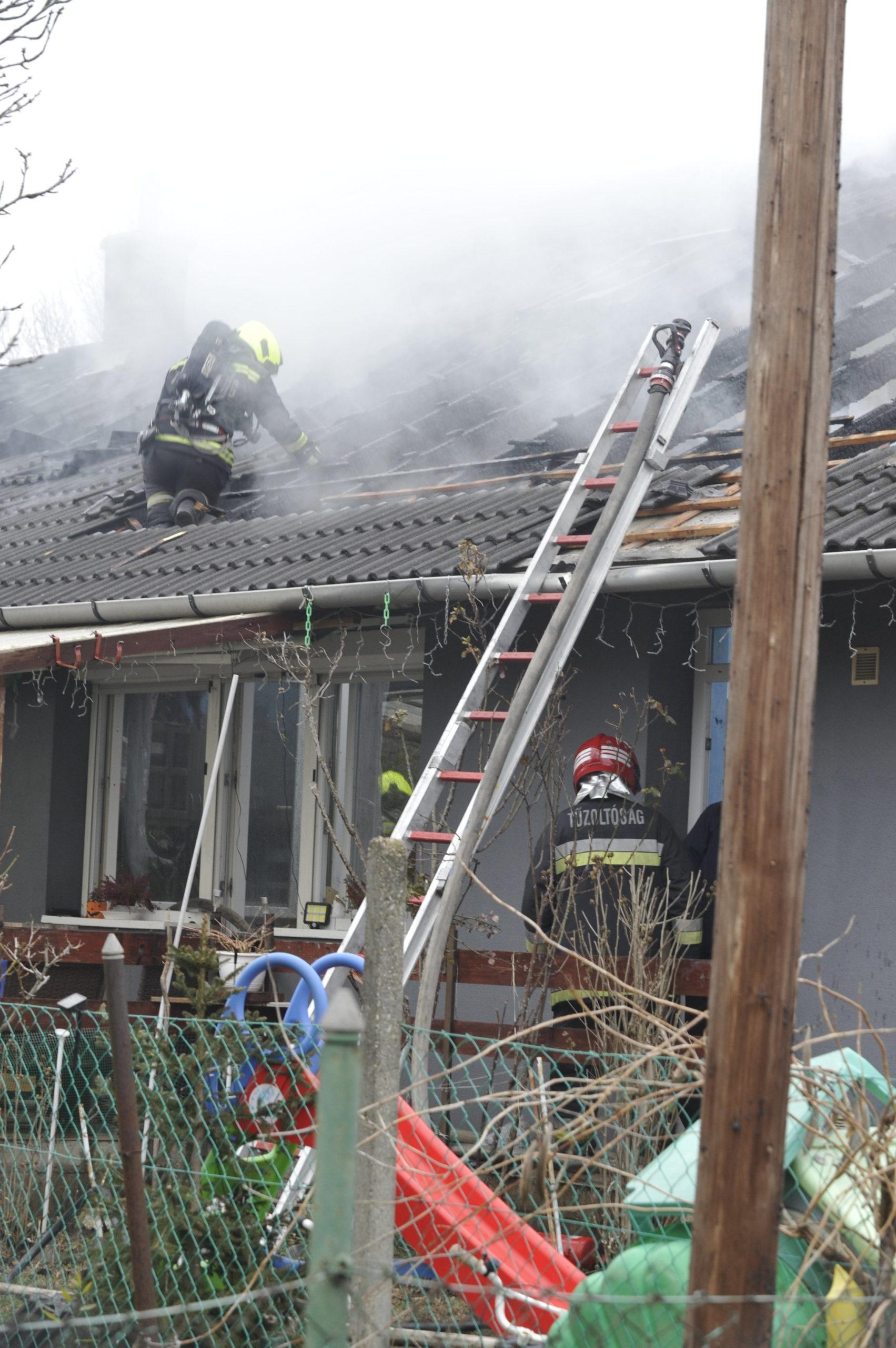 Tűz ütött ki Gyálon