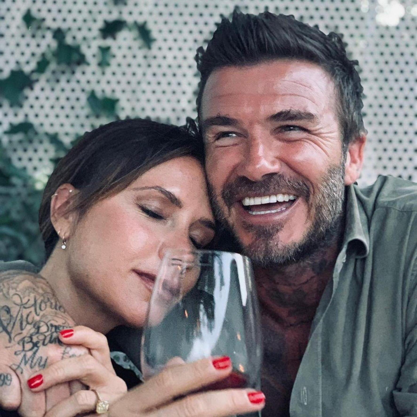 David és Victoria Beckham nagy bulit rendeztek