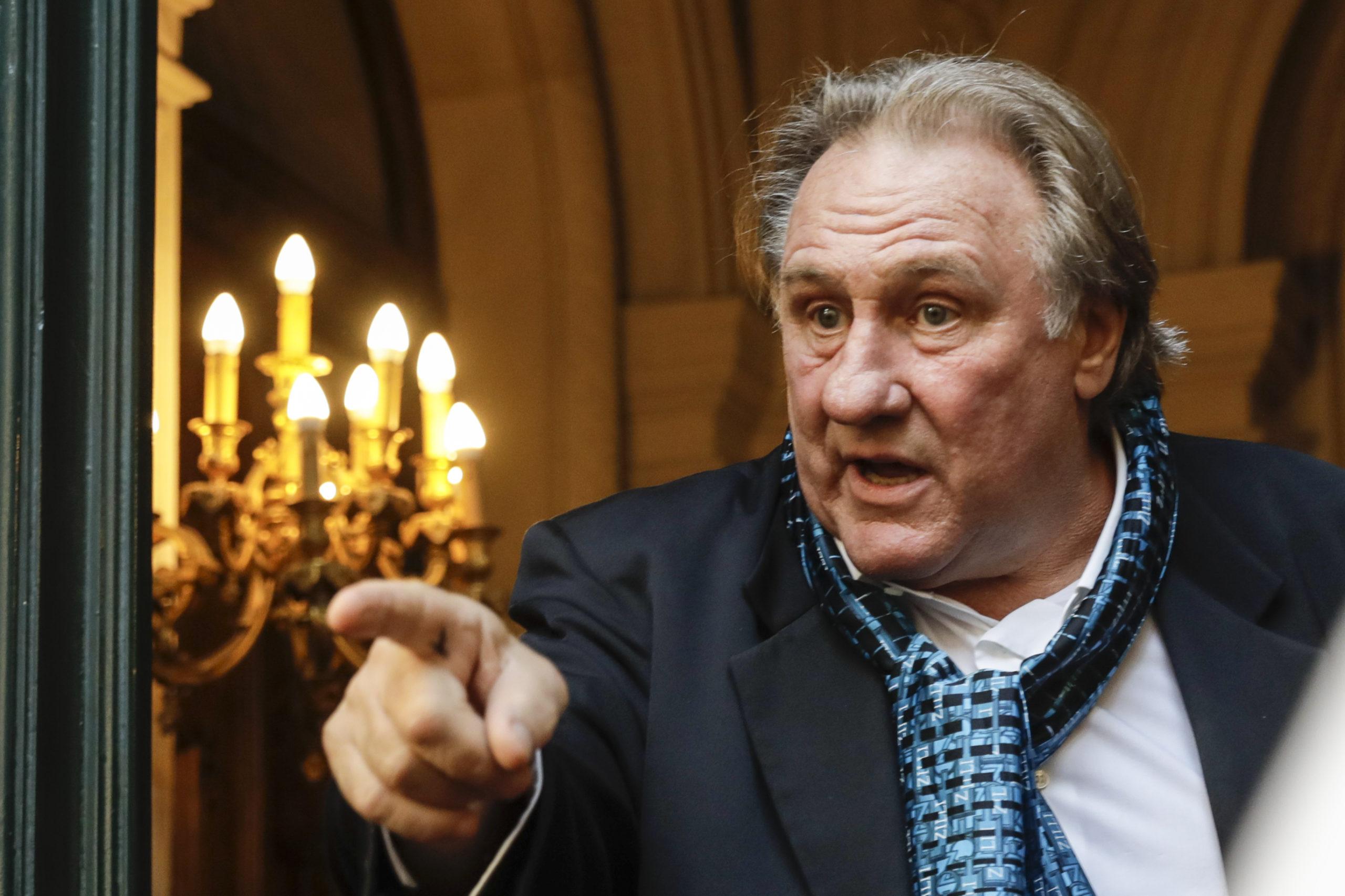 Gérard Depardieu tagadja a nemi erőszakot