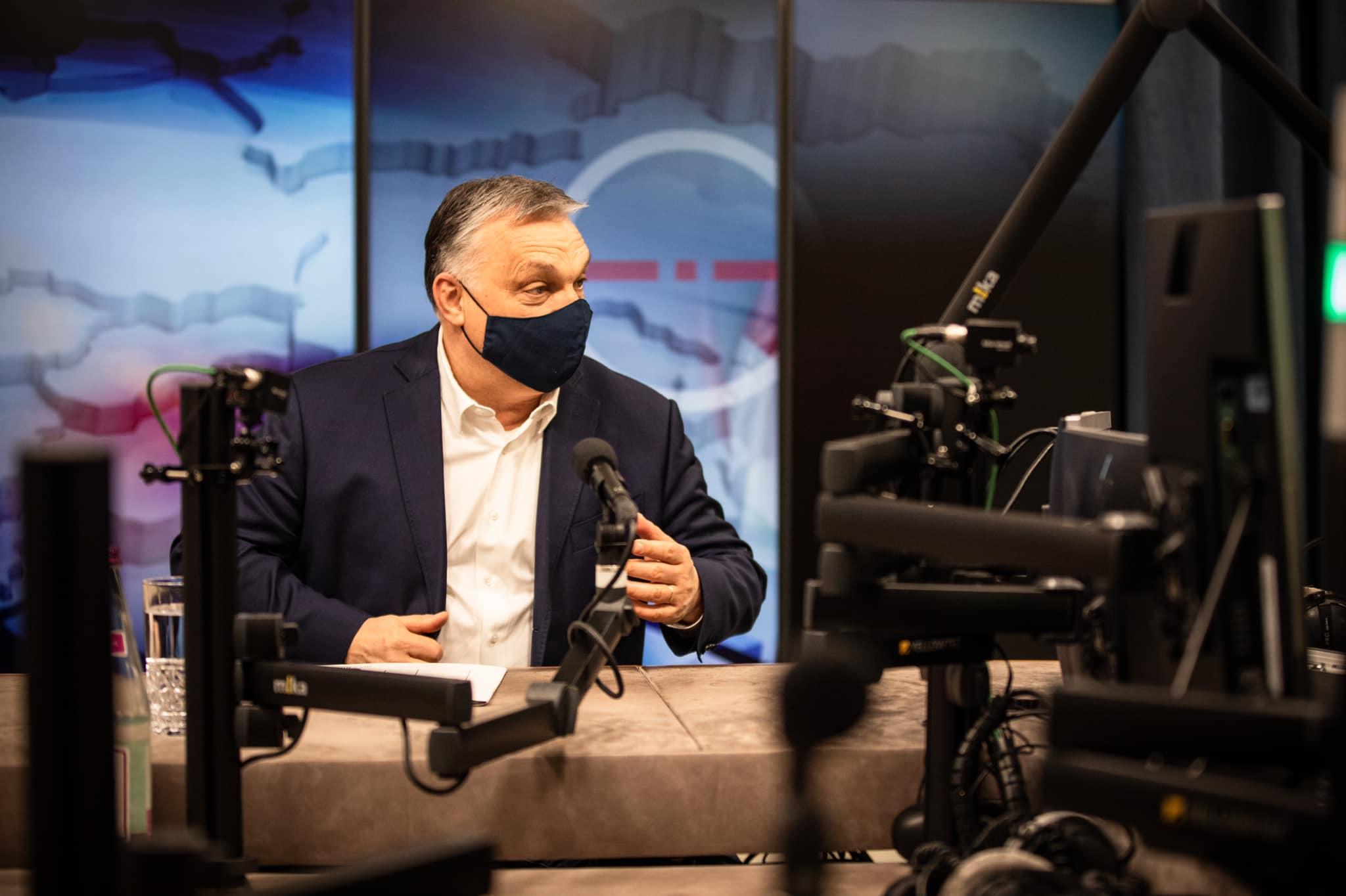 Orbán Viktor péntek reggel a Kossuth Rádió vendége volt