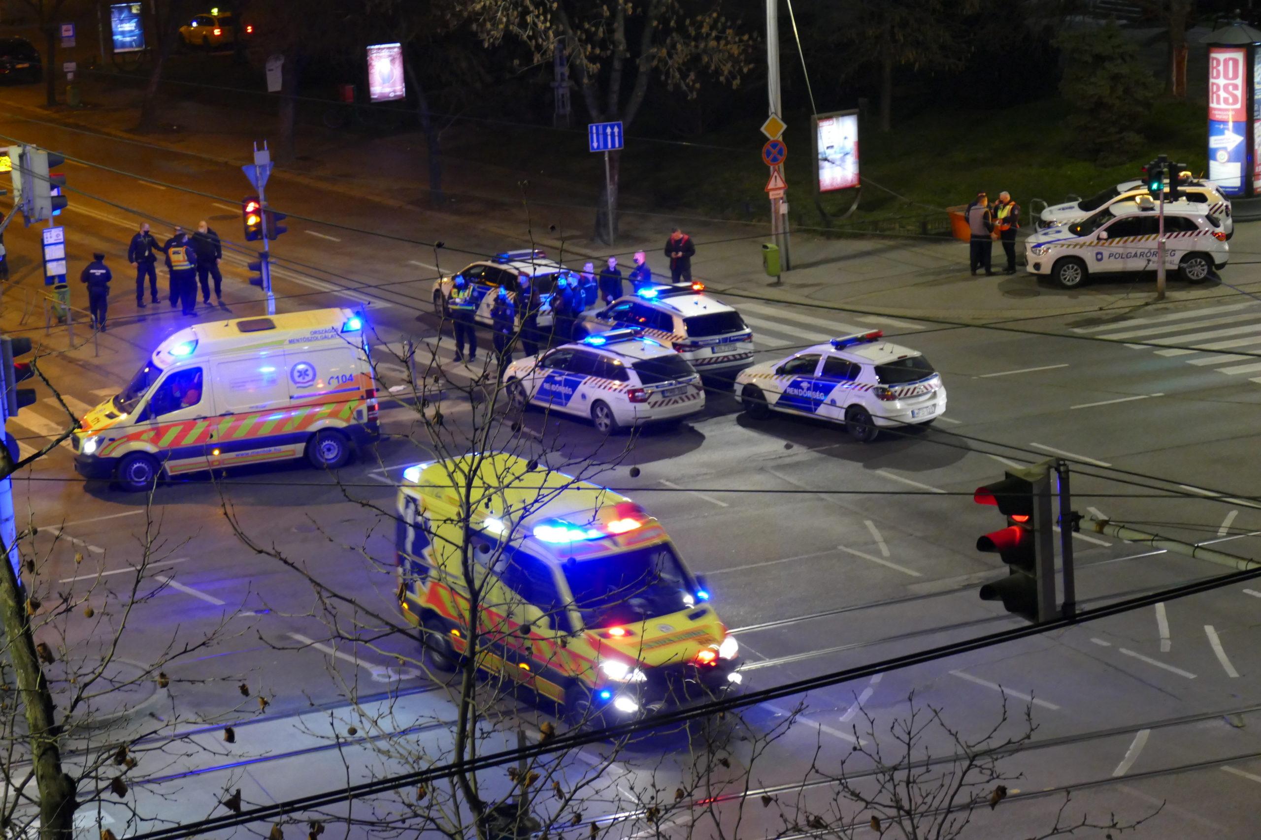 Budapesti buszos késelés: az eset a Hungária körút és a Thököly út sarkánál történt.