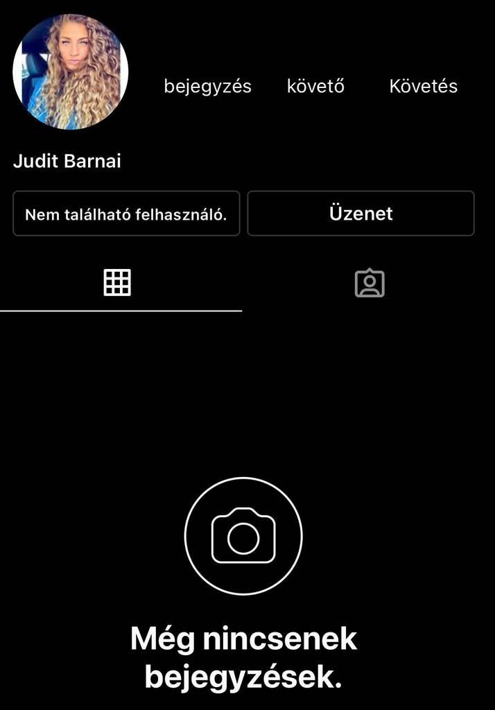 Curtis barátnője eltűnt az Instagramról