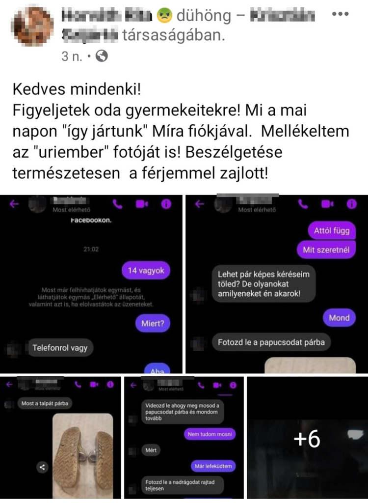 Pedofil botrány a Facebook-on