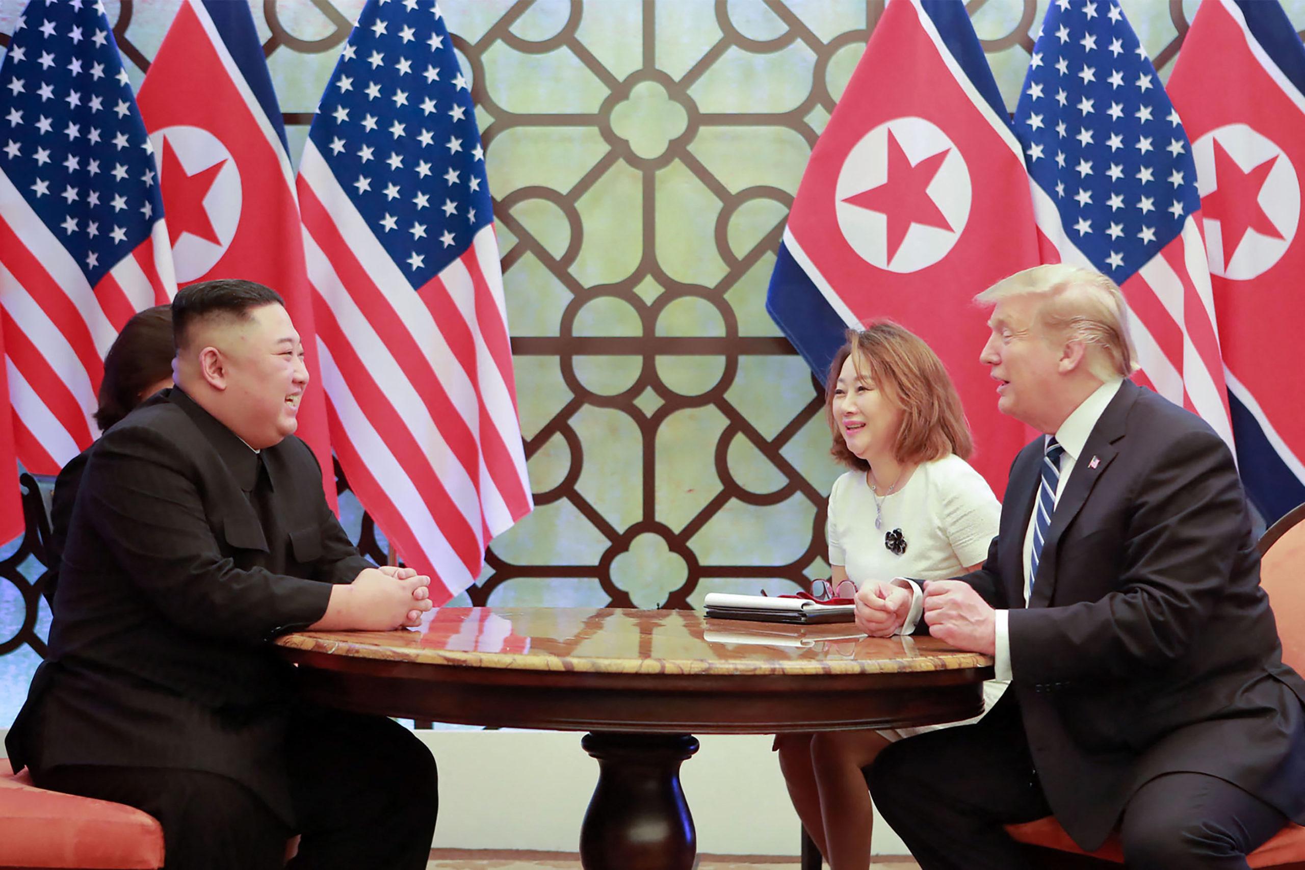 Kim Dzsongun és Donald Trump Vietnámban is találkoztak