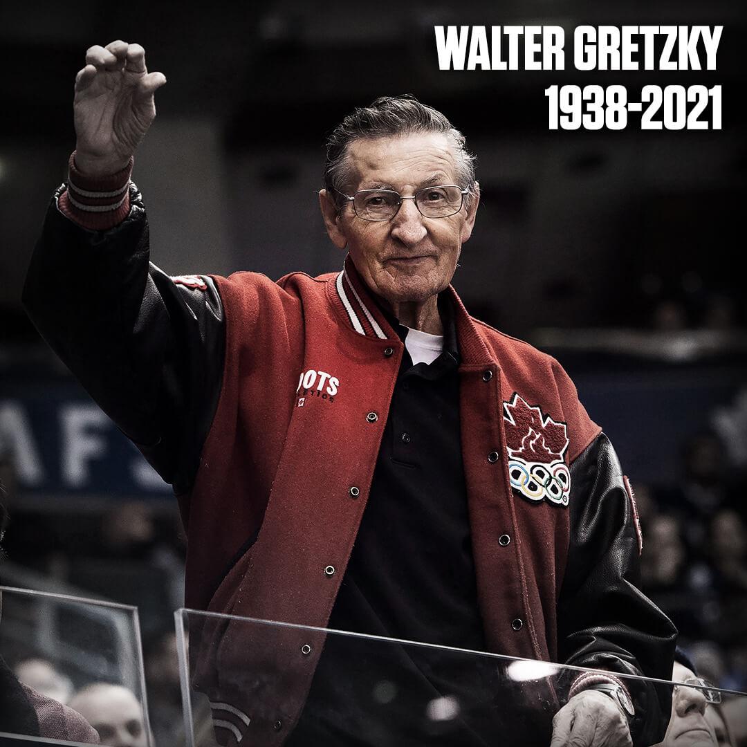 Walter Gretzky 82 éves korában hunyt el