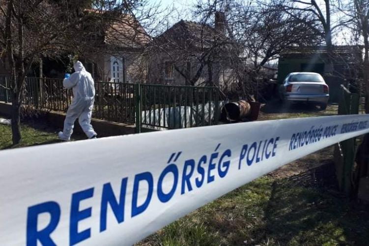 A kislángi kettős gyilkos ügyében nyomozott a rendőrség