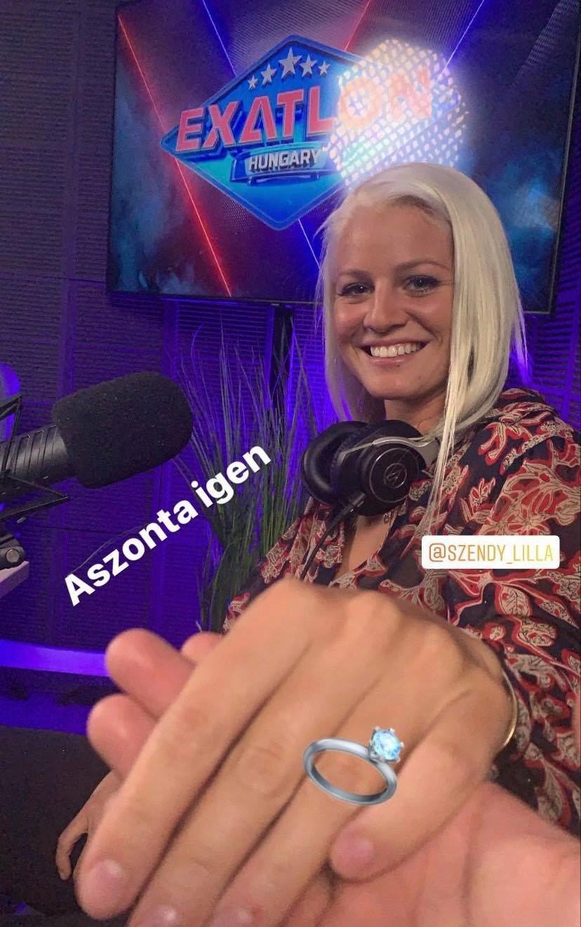 Szendy Lilla és Szabó Benő vicces fotója