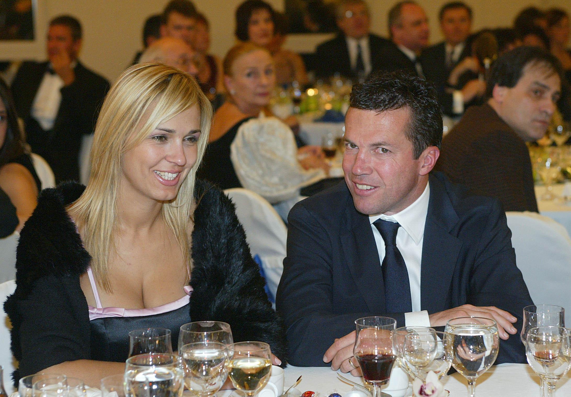 Matthäus és Marijana Kosztics a 2004-es budapesti Újságíróbálon