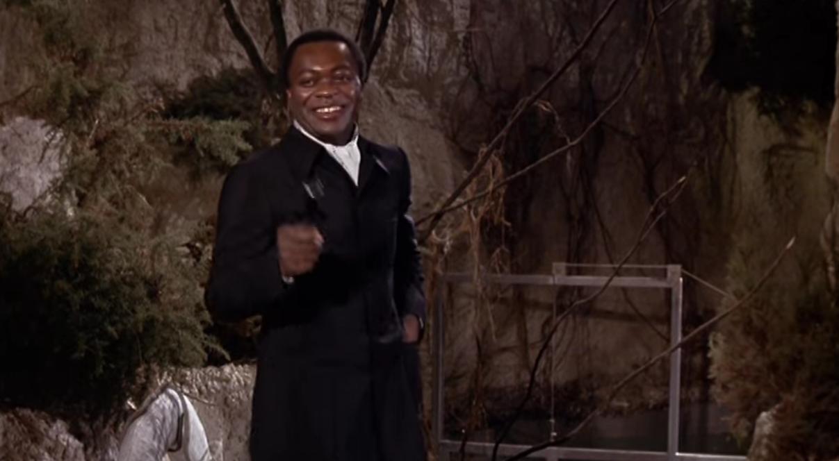 Yaphet Kotto a James Bond filmben, mint főgonosz