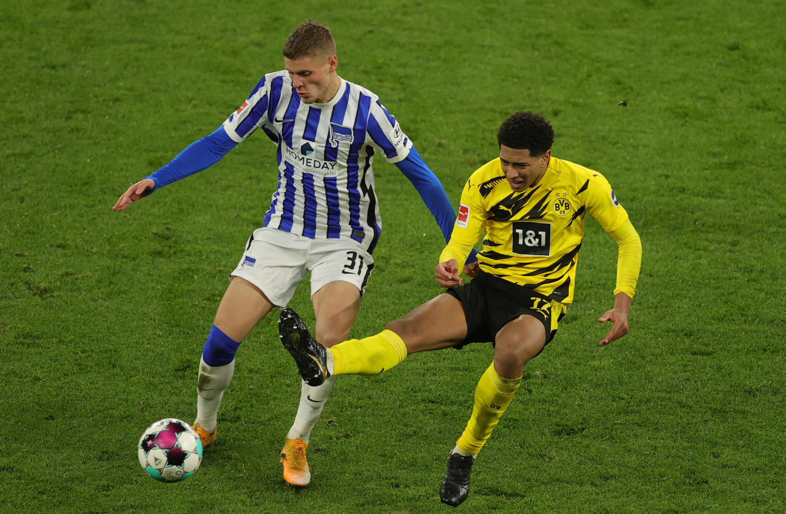 Nem Dárdai Mártonon (balra) múlt a Hertha dortmundi veresége