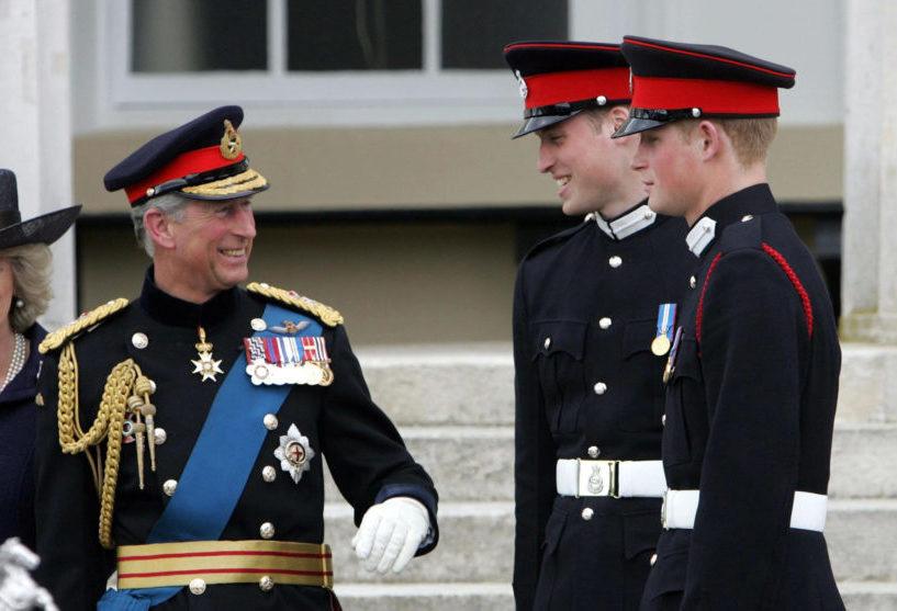 Károly herceg és a fiai már aligha fognak hármasban bandázni