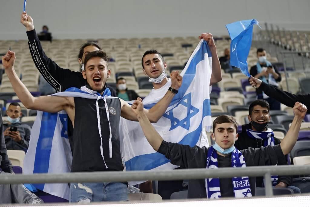Nézők előtt játszották az Izrael-Dánia meccset