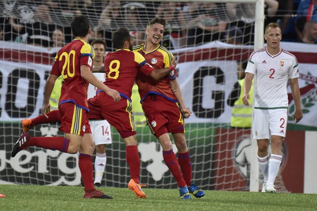 Andorra csatára, Marc Rebes négy éve győztes gólt szerzett ellenünk