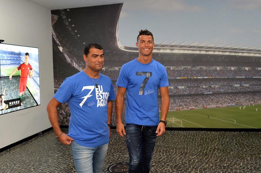 Hugo Aveiro és Cristiano Ronaldo, a két testvér bensőséges viszonyt ápol